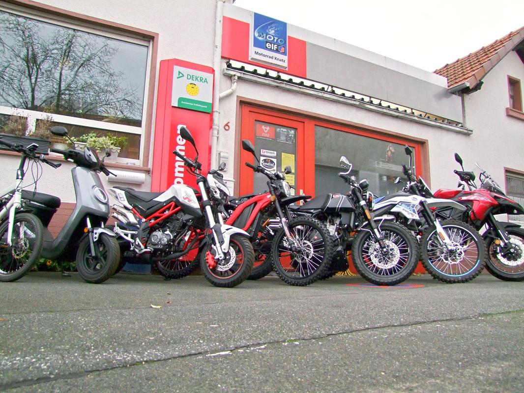 Foto von Motorrad-Knatz