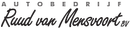 Logo Autobedrijf Ruud van Mensvoort B.V.