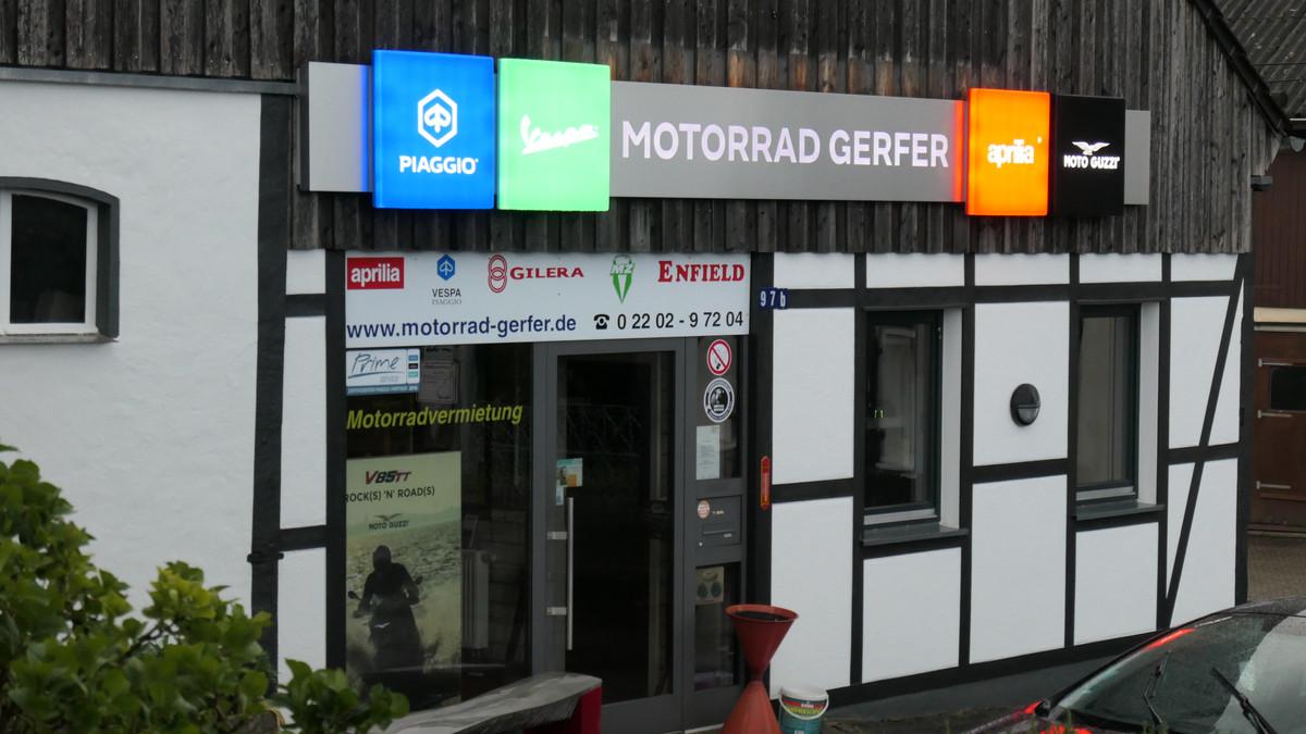 Foto von Motorroller - Motorraeder