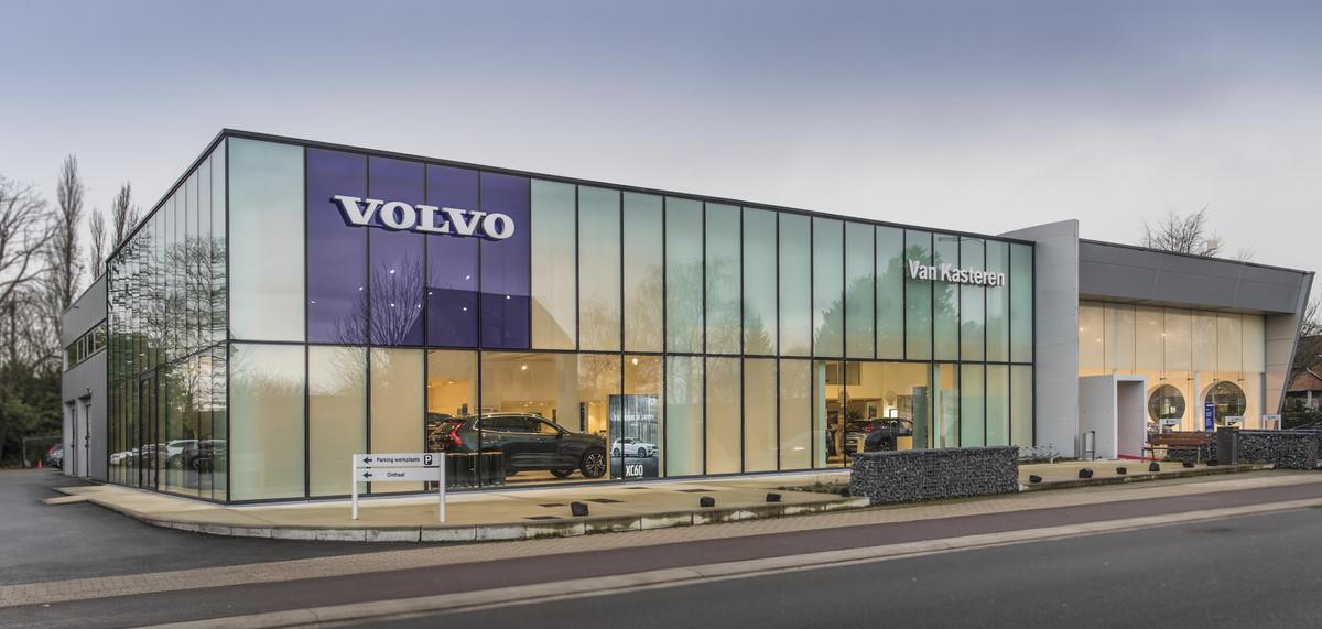 Huidige Voertuigen Van Volvo Van Kasteren Dendermonde In