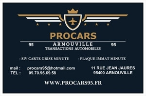 PROCARS95 11 Rue Jean Jaurs 95400 Arnouville