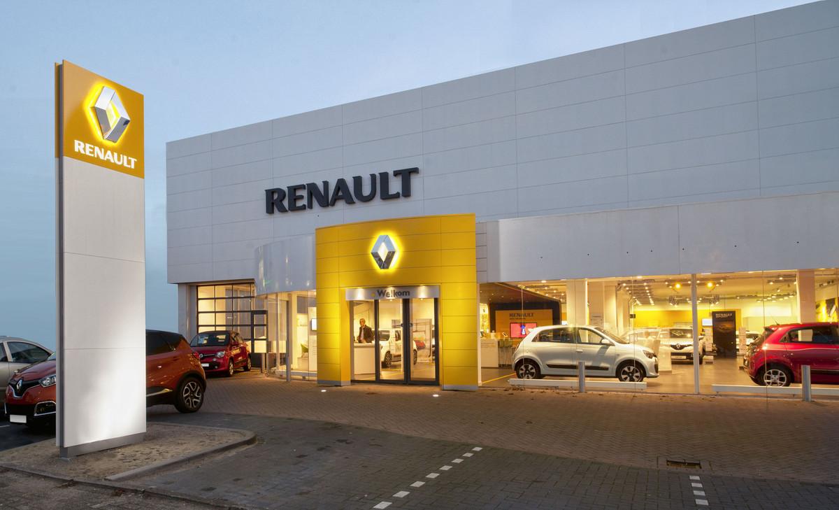 Foto Van Mossel Renault Rotterdam Alexander
