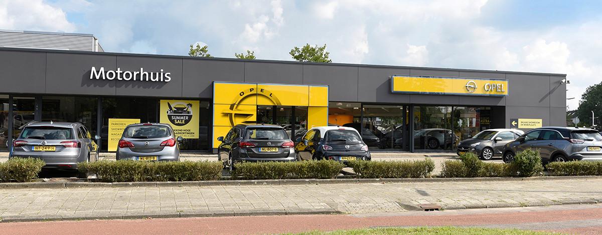 Foto Motorhuis Hoofddorp Opel