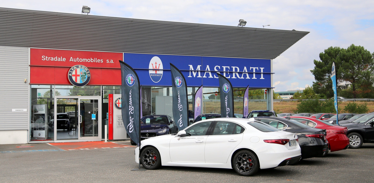 Photo de Alfa Romeo - Maserati - Sipa Automobiles -Bordeaux