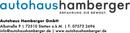 Logo Autohaus Hamberger GmbH