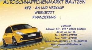 Foto Autoschnäppchenmarkt Bautzen