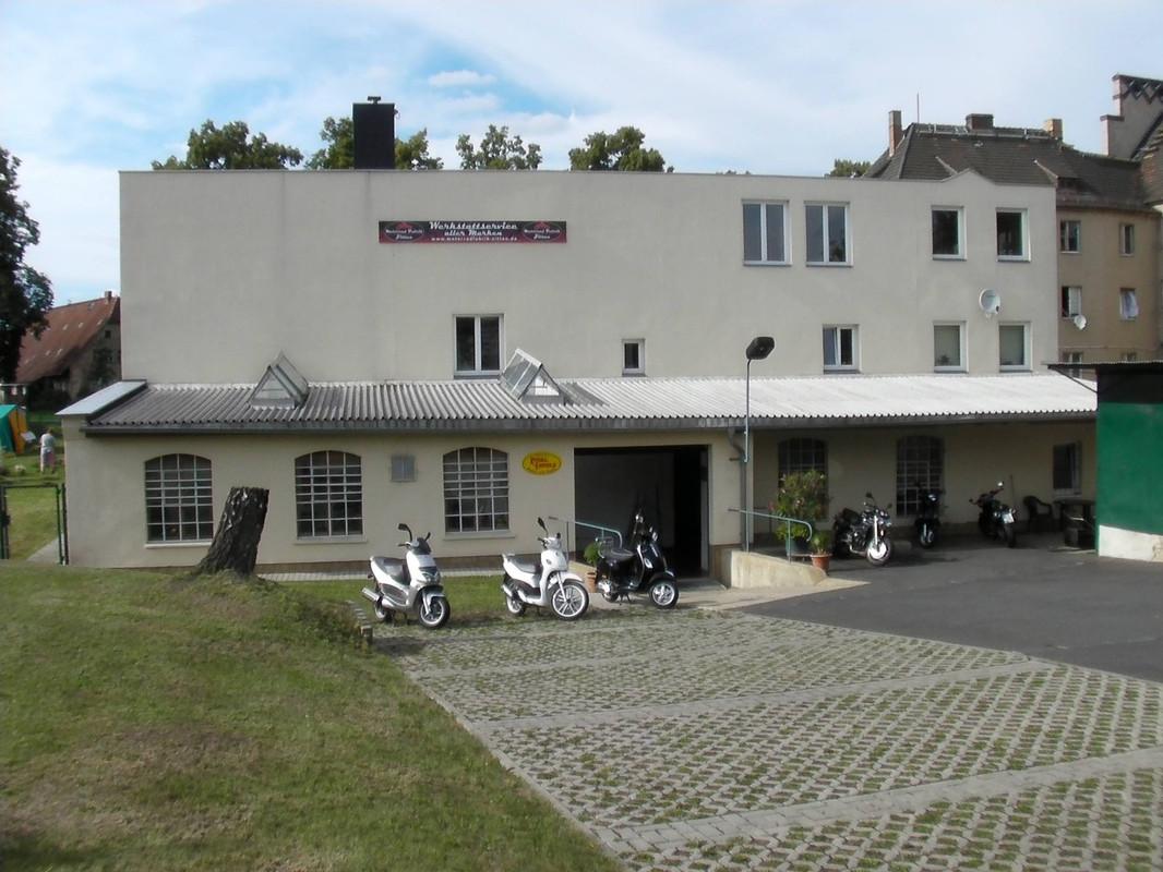 Foto von Motorrad Fabrik Zittau