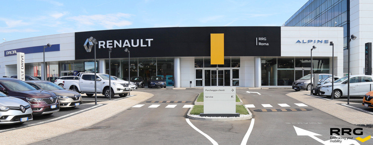 renault retail group italia spa roma in roma rm autoscout24. Black Bedroom Furniture Sets. Home Design Ideas