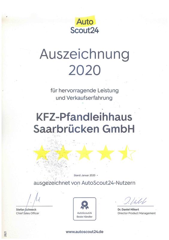 Foto von KFZ-Pfandleihhaus Saarbrücken GmbH