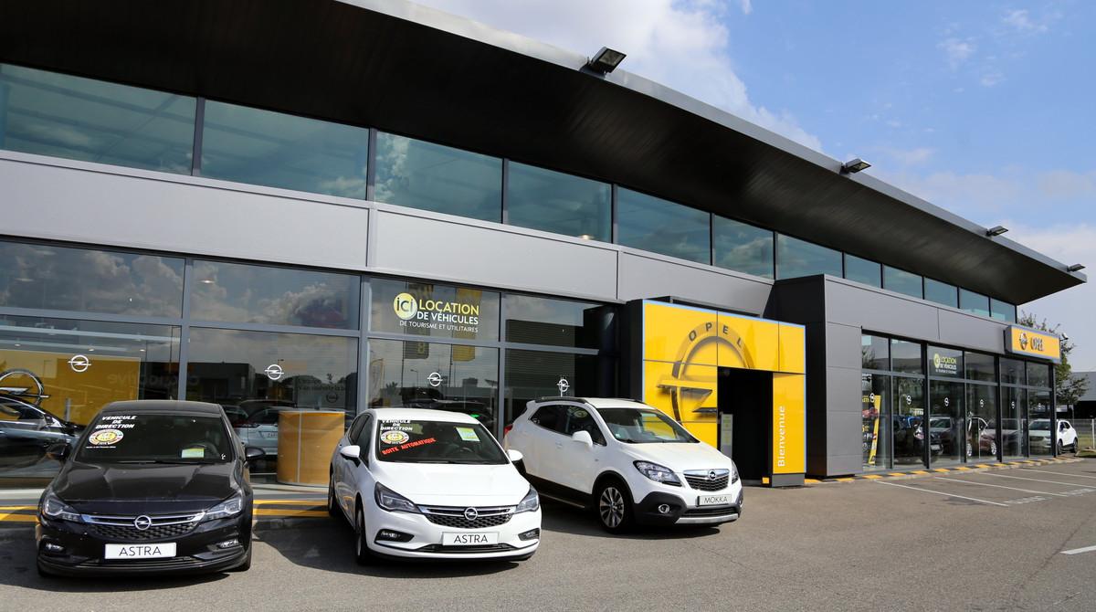 Photo de Opel - Sipa Automobiles - Toulouse Labège