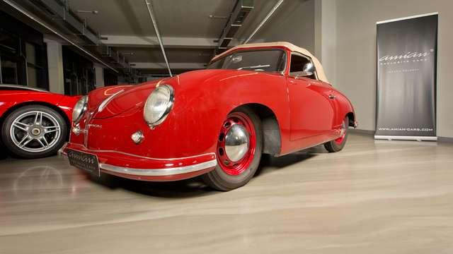 Porsche 356 pre A 1500 Cabriolet - May 1952 - * 10273 *