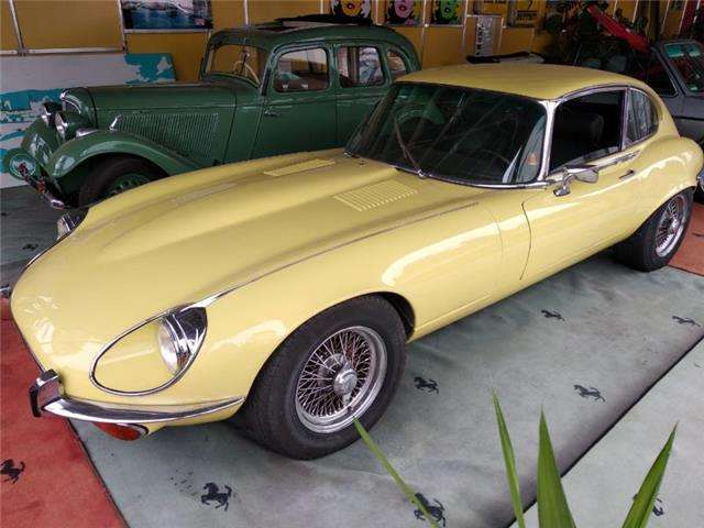 Jaguar E-Type V12 Einspritzer BJ.: 1973 mit H-Zulassung !!!
