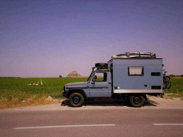 Mercedes-Benz G 250 Sani Umbau WoMo Expedition