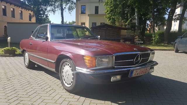 Mercedes-Benz SL 500 mit H Zulassung. sehr sauberes Fzg. vieles neu