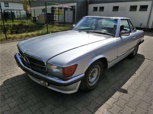 Mercedes-Benz SL 450 Typ W107, excellentem Zustand,79700km, Softtop neu
