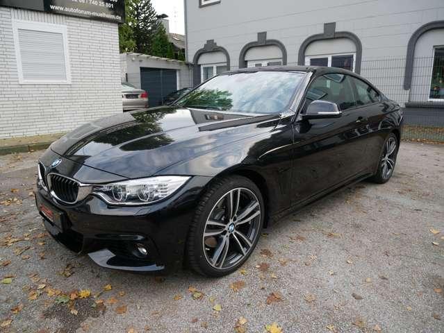 BMW 428 i M Sport Coupe HUD Navi DAB Komfortzug.LED Alcant