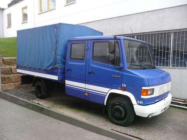 Mercedes-Benz Vario 508 D * 1.Hand * Doppelkabine * nur 85 tkm *