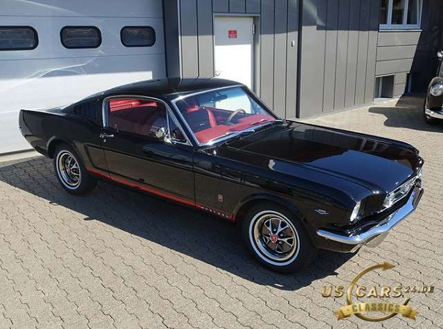 Ford Mustang Fastback GT, 289 V8, Frame-Off Restauration