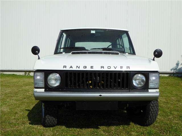 Land Rover Range Rover V8, 1Serie, Frame off rest.