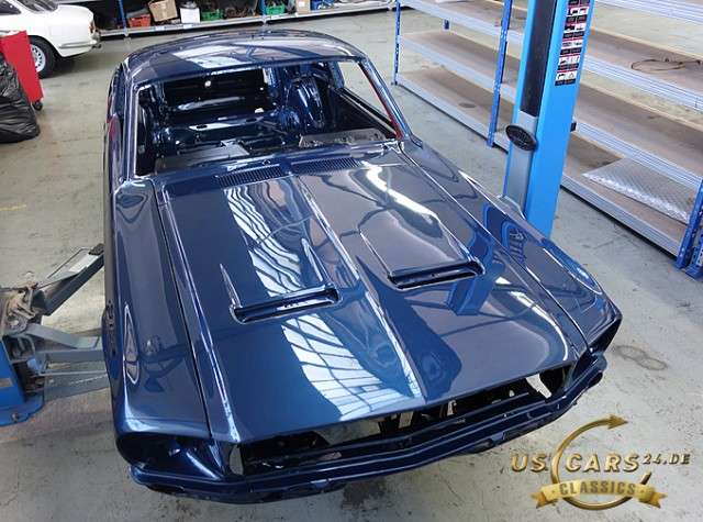 Ford Mustang Fastback GTA, 390 Big Block, Restaurations Projekt