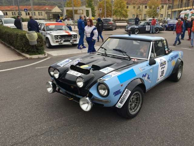 Abarth 124 Rally Tribute Rally Stradale Gruppe4