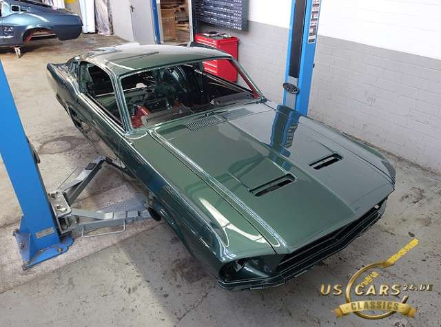 Ford Mustang Fastback, 390 V8 Big Block, Restaurations Projekt