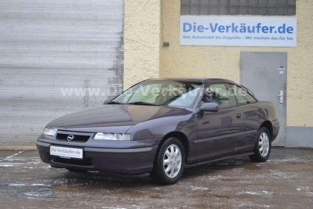 Opel Calibra 1.Hand komplettes Opel Scheckheft KLIMA