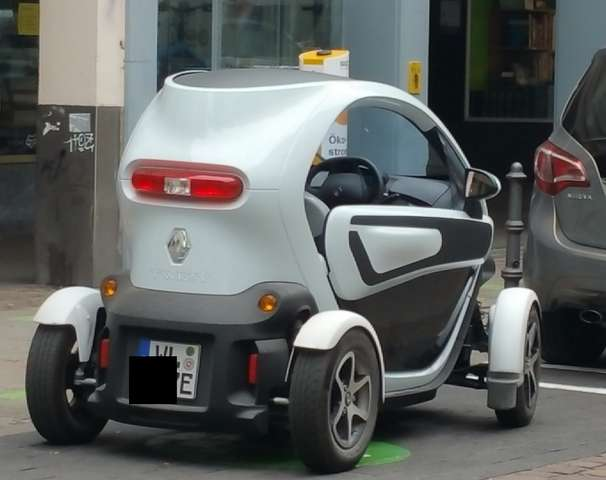 Renault Twizy (ohne Batterie) Sport Edition White