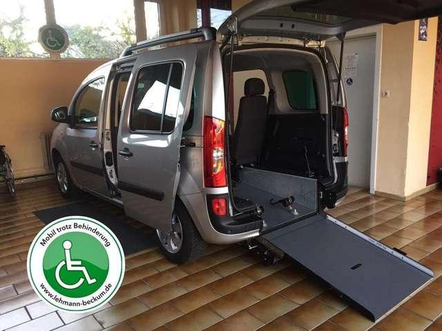 Mercedes-Benz Citan Automatik Rollstuhlrampe Heckausschnitt Mwst ♿