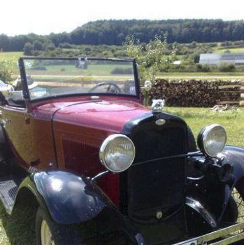 Ford Sonstige MODEL A CABRIO PICKUP