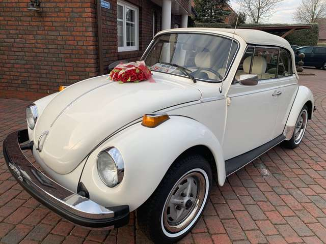 Volkswagen Käfer US Mod.1,6 Triple White Originallack!