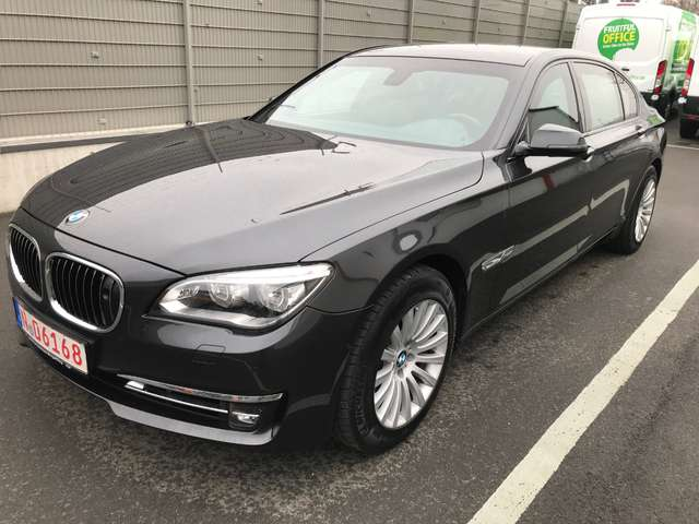 BMW 760 Li F03 VR7/VR9 High Security Werkspanzer Armoured
