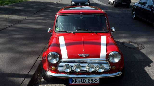 Rover MINI Flame Red