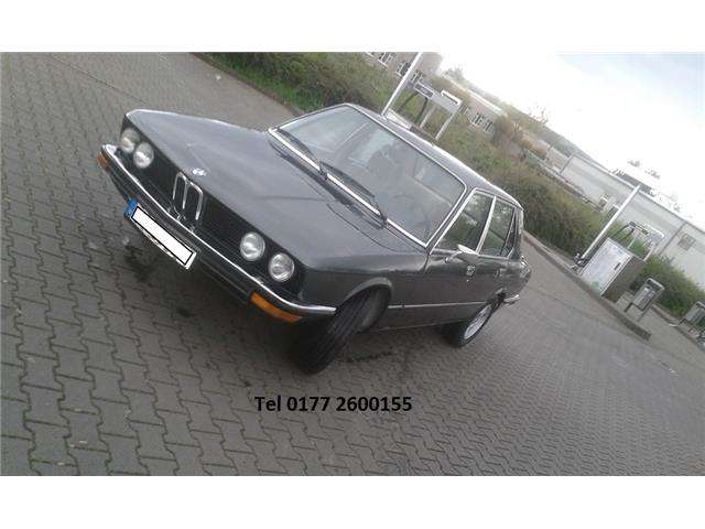 BMW 525  E12  erste Serie
