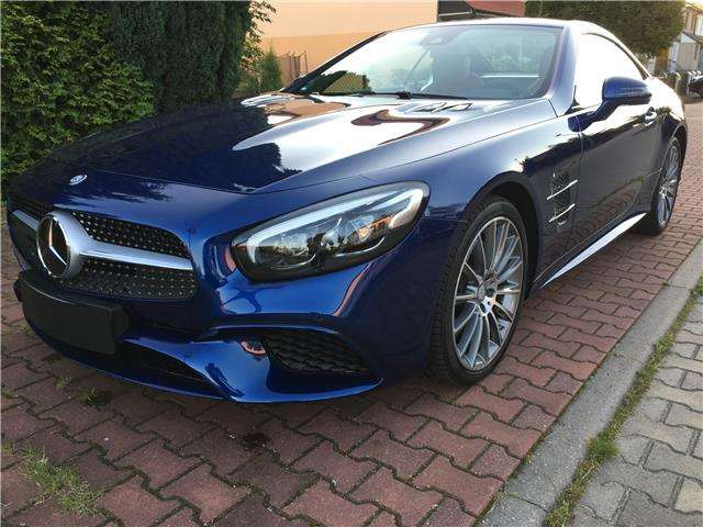 Mercedes-Benz SL 400 9G-TRONIC Panorama-D. AIRSCARF 75l