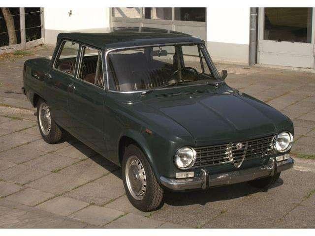 Alfa Romeo Giulia 1300 TI 100% Original mit schöner Patina