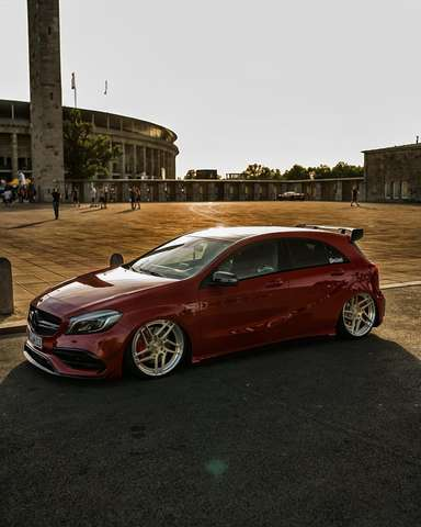 Mercedes-Benz A 45 AMG -Klasse    4Matic  Speedshift 7G-DCT