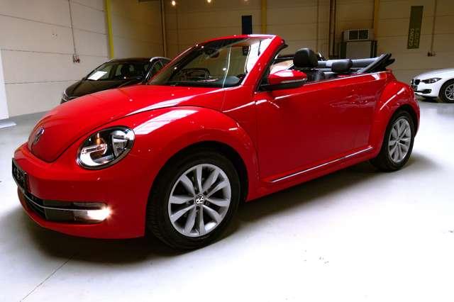 volkswagen beetle 1-2-tsi rood