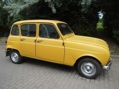 Renault R 4 Gelb