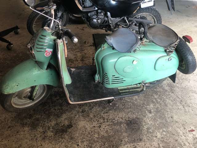 Buy puch RL 125 motorcycle from Germany, used puch RL 125