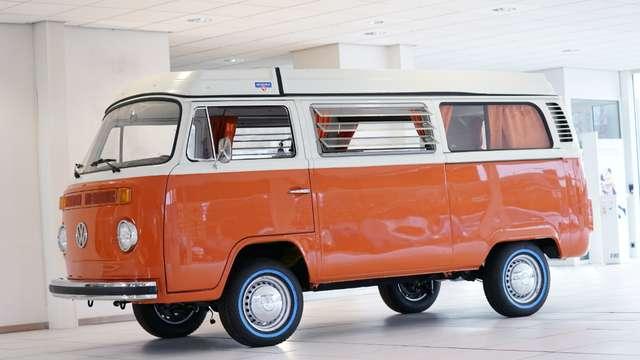 volkswagen t2 t2b-westfalia-helsinki oranje