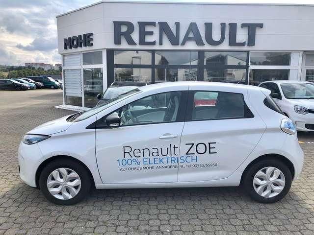renault zoe ohne-batterie-22-kwh-life-navi-klimaautomatik weiss