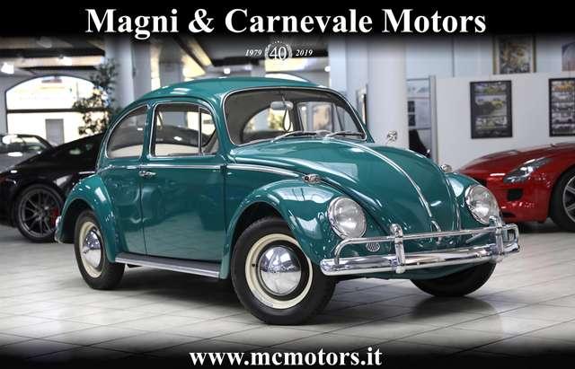 volkswagen maggiolino 6-volt-unico-proprietario-da-collezione green