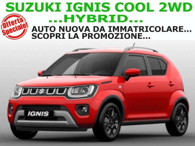 suzuki ignis 1-2-hybrid-cool-2wd-super-promo-on-line rosso