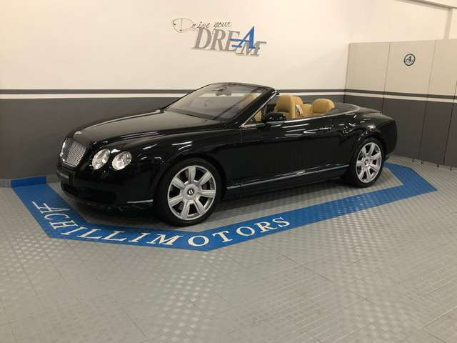 bentley continental gtc-v12-tagliandata-full-opt black