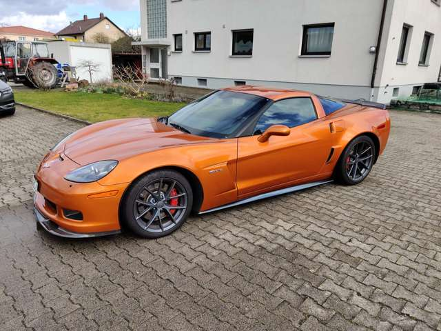 corvette c6-coupe z06 grau
