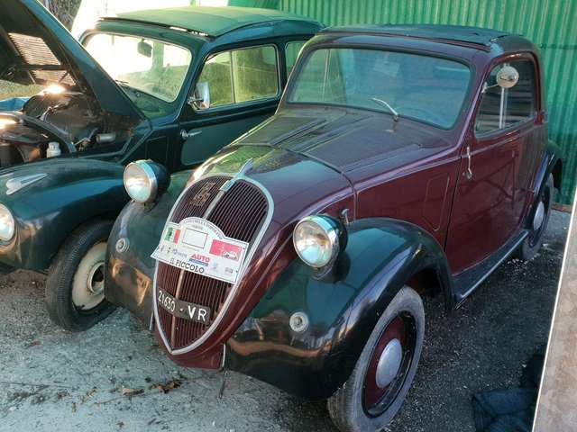 fiat 500 a rosso
