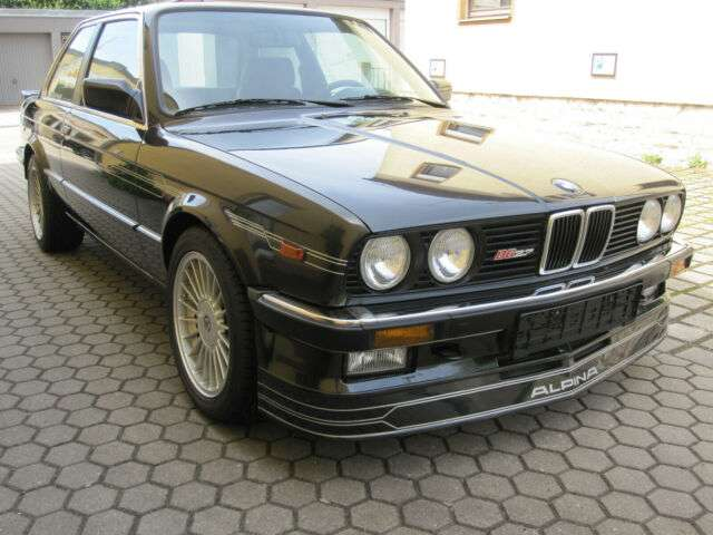 bmw m3 alpina-b6-2-7-67stueck-gebaut-klima-h-zul schwarz