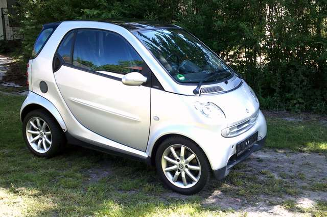 smart fortwo silber