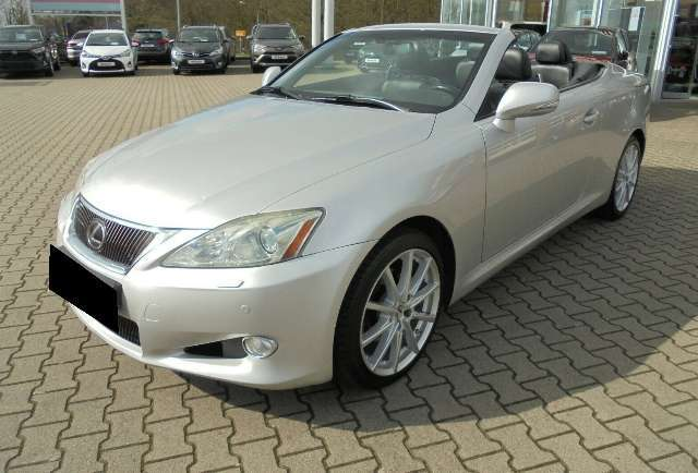 lexus is-250 silber